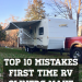 10 Mistakes First Time RV Owners Make