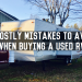 10 Costly Mistakes to Avoid When Buying a Used RV